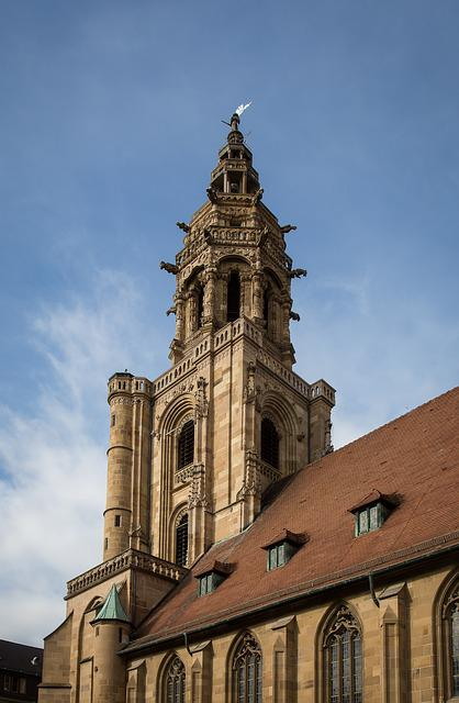 Heilbronn, St Kilian, Saint Kilian's Church, Steeple