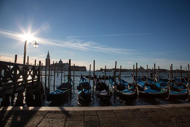 St Mark's Square, Gondola, Venice