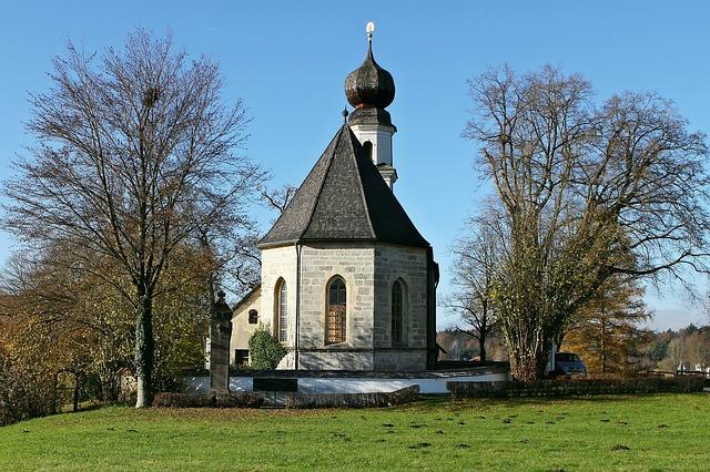 Upper Bavaria, Church, St Mary, Braeuhausen