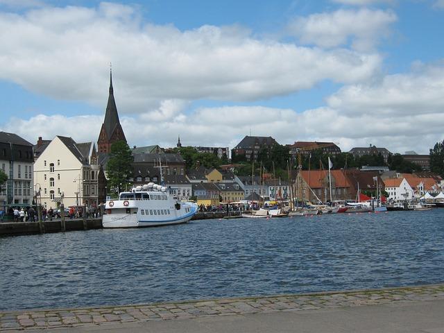 Förde Flensburg, Top Of Port, St Mary's Church