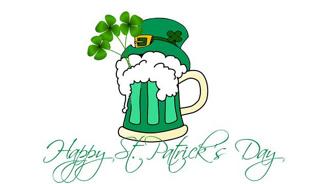 St Patrick's Day, Saint Patrick, Clover, Leprechaun