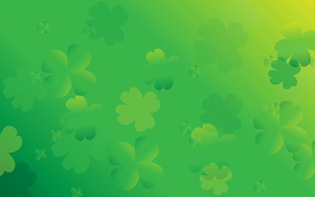 St Patricks Day, Background, Clover, St Patrick