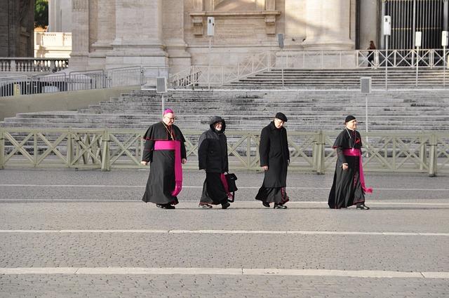 Religion, Vatican, Rome, Bishop, St Peter's Basilica