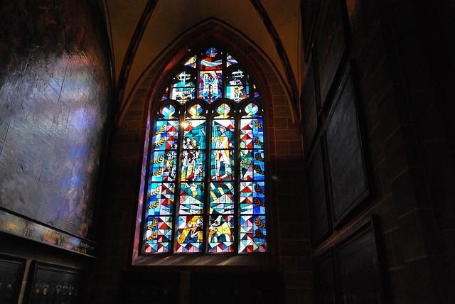 Church Window, St, St Peter's Church, Bremen