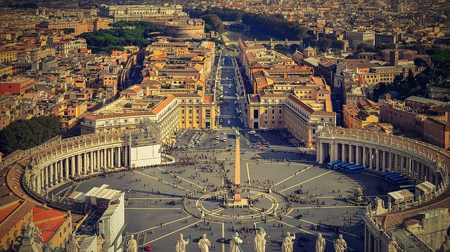 Rome, The Vatican, Italy, St Peter's Square