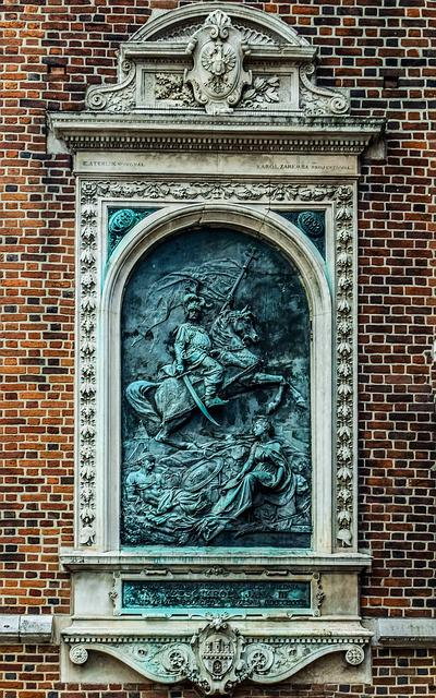 Sculpture, Wall, Architecture, Church, Art, St, Mary
