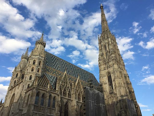 St Stephan's Cathedral, Vienna, Austria, Church
