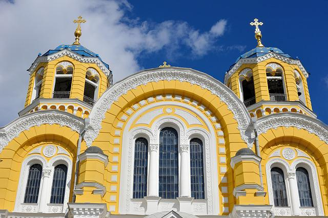 Ukraine, Church, St Vladimir's Cathedral, Cathedral