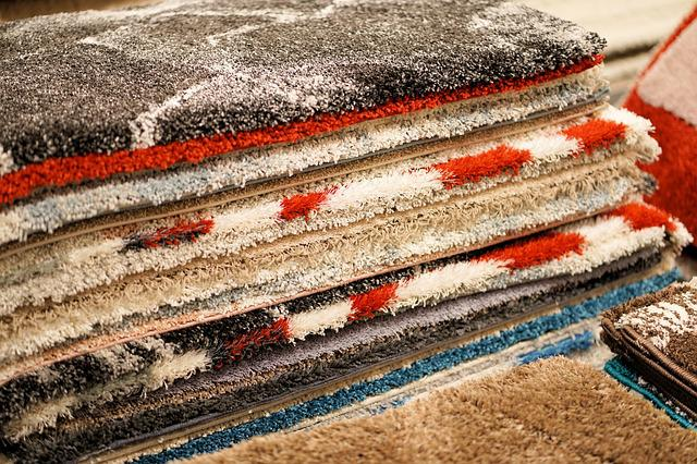 Carpet, Stack, Tissue, Fabric, Background, Modern