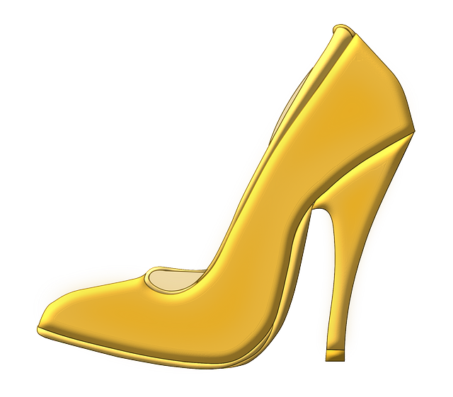 Shoe, High Heeled Shoe, Stack-heel Shoe, Stiletto
