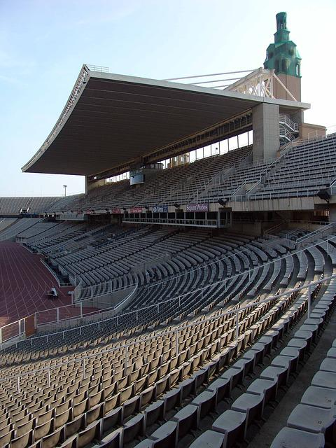 Rows Of Seats, Stadium, Football Stadium, Grandstand