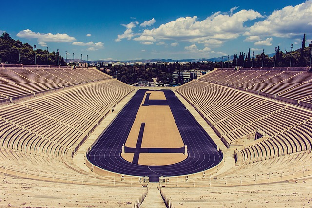 Greece, Athens, Stadium