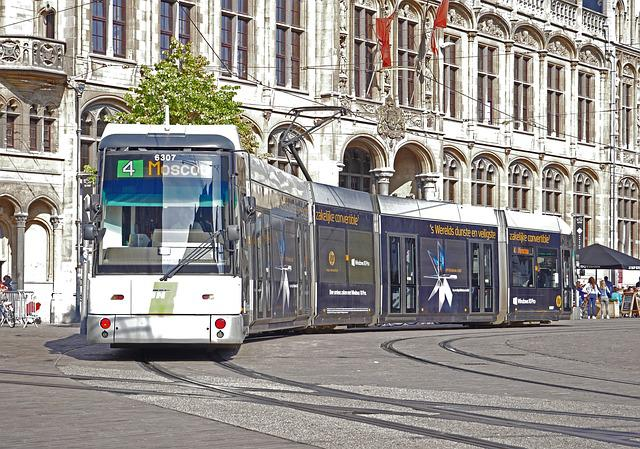 Road Train, Gent, Stadtmitte, Kornmarkt, Old Post