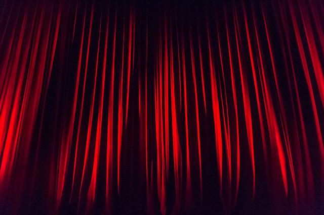 Stage Curtain, Curtain, Stage, Staging, Stage Design