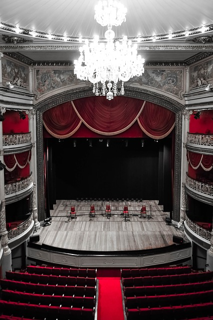 Stage, Theatre, Of, Santa, Isabel