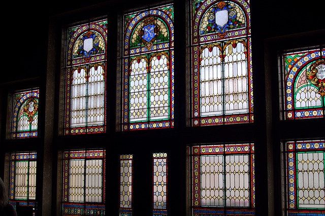 Stained Glass Window, Krotoszyn, The Town Hall, Colors