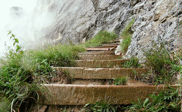 Unterberg, Climb, Stairs, Stair Step, Gradually, Path