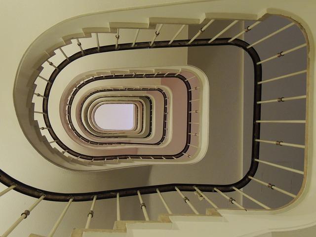 Staircase, Detail, Mood, Romance, Vienna, Railing