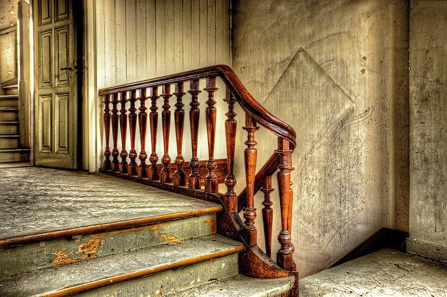 Stairs, Steps, Old, Hdr, Architecture, Decay, Building