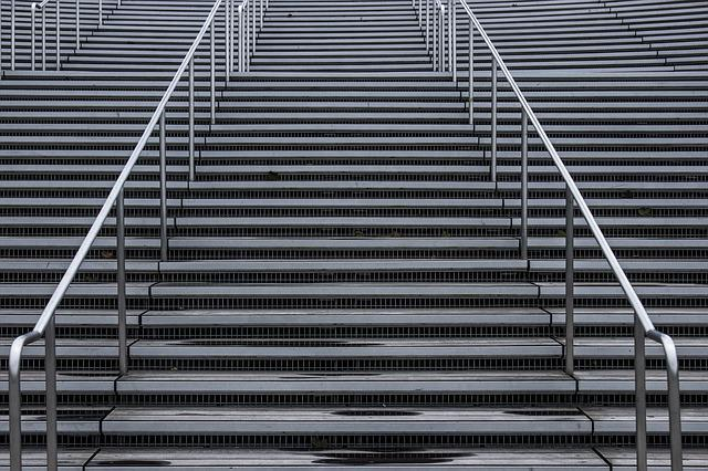 Grey, Repetition, Stairs
