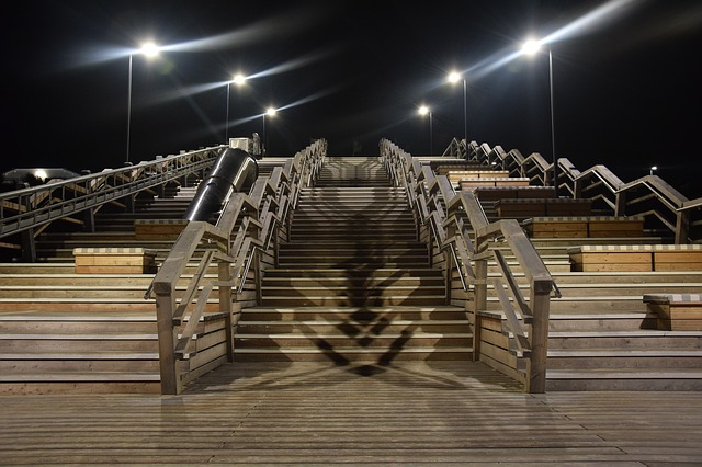 Seetreppe, Sylt, Wenningstedt, Stairs, Island