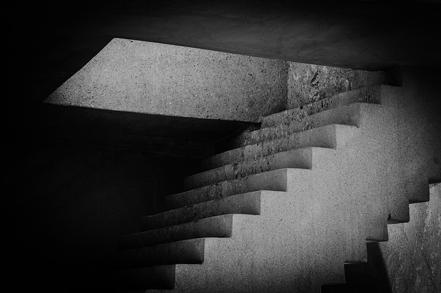Sculpture, Marble, Art, Stairs, Staircase, Light