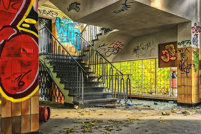 Lost Places, Home, Stairs, Uninhabited, Staircase