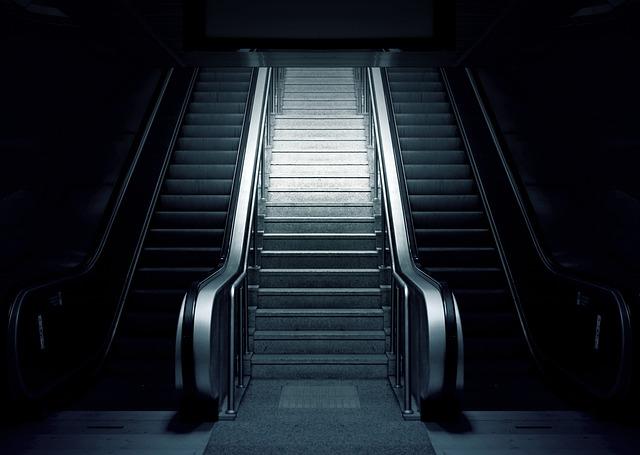 Escalator, Metro, Stairs, Subway, Urban, Station