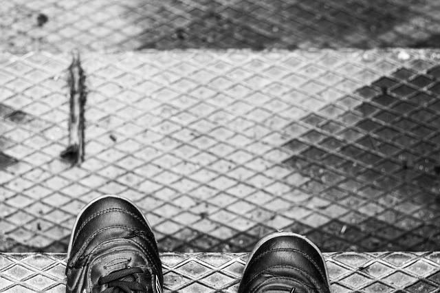Stairs, Boots, Old Shoes, Depth Of Sharpness, Travel