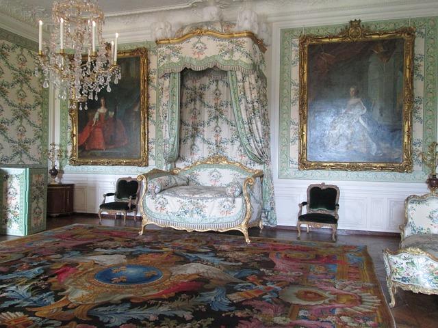 Versailles, Interior, Room, Vintage, Stake, Old Carpet