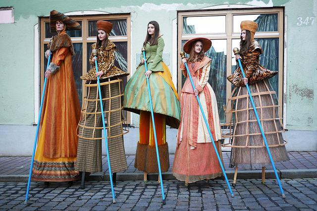 Stalk, Landsberg, Costumes, Traditionally, Elegance