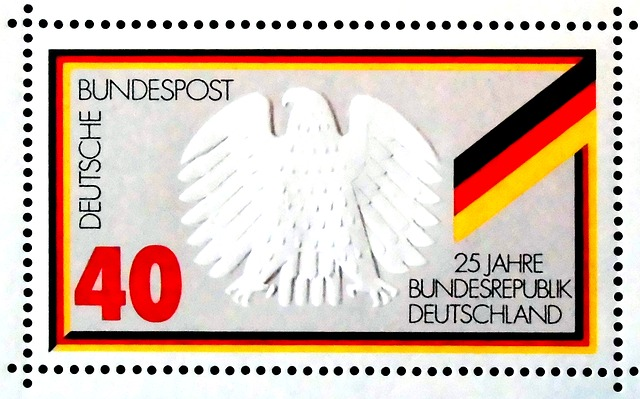 Stamp, 25 Years, Federal Republic Of Germany, Post