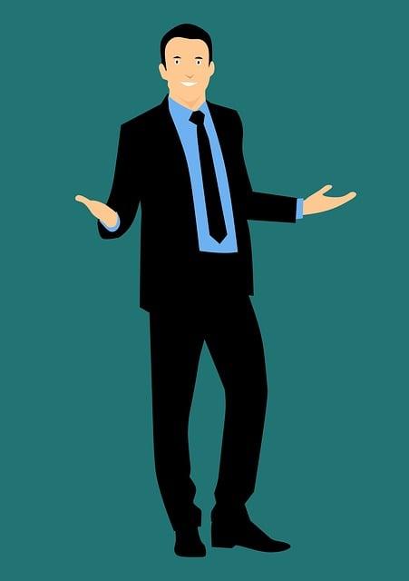 Design, Business, Businessman, Standing, Man, Cool