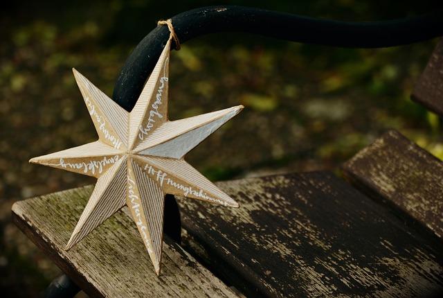 Star, Poinsettia, Embassy, Christmas Time, Christmas