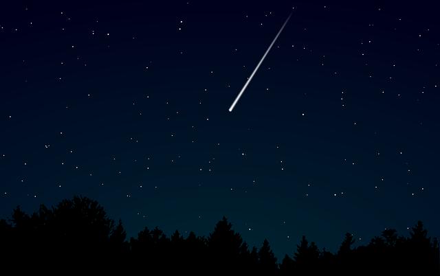 Dark, Darkness, Meteor, Night, Shooting Star, Sky, Star