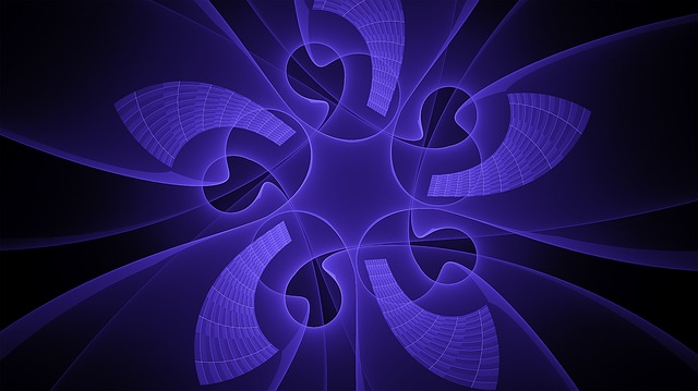Fractal, Blue, Star, Abstract, Fractal Art, Pattern