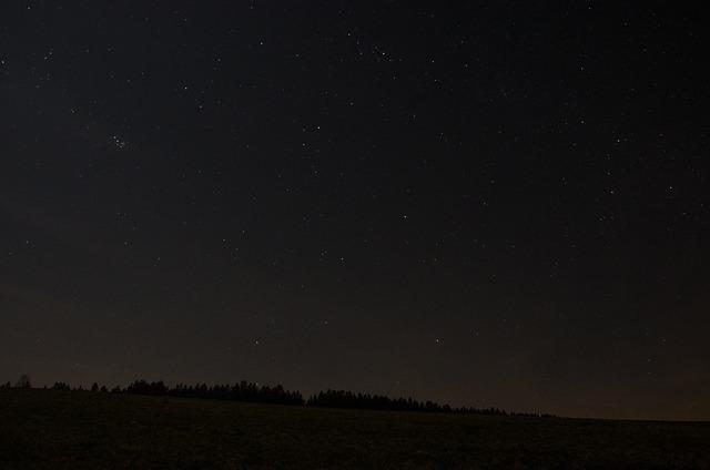 Moon, Astronomy, Sky, Landscape, Darkness, Night, Star