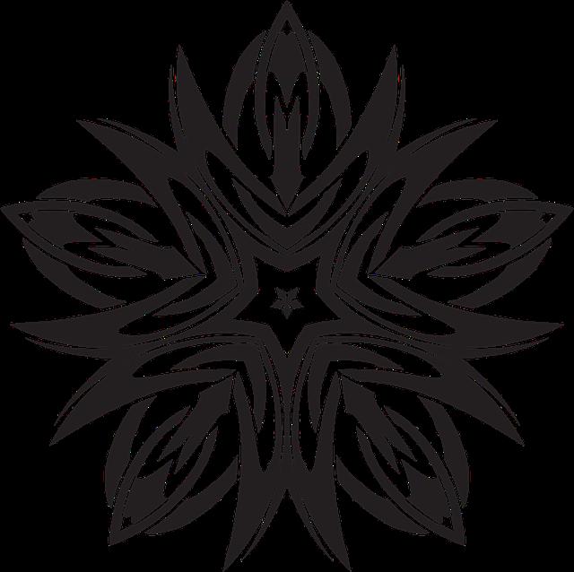 Celtic, Knot, Design, Decorative, Ornamental, Star