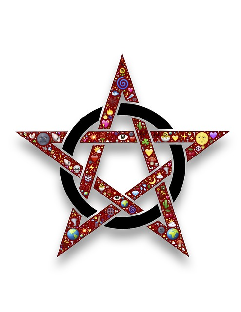 Pentacle, Pentangle, Star, Circle, Symbol, Pentagram
