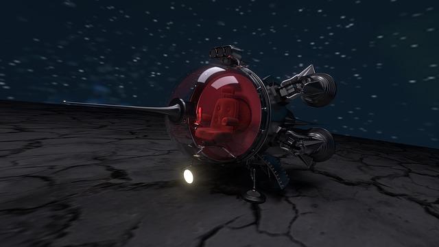 Spaceship, Ufo, Star, Universe, Planet, Moon