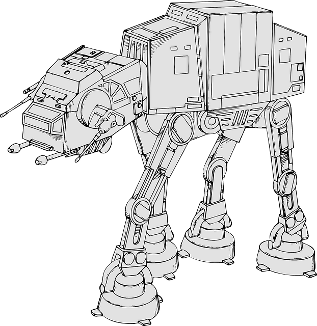 Star Wars, At-at, Star, Laser, Robot, Arsenal, War