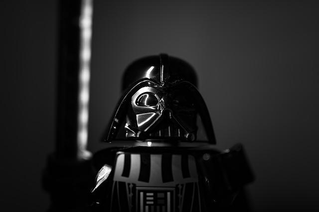 Toy, Lego, Star Wars, Vader, Minifigure, Play, Plastic