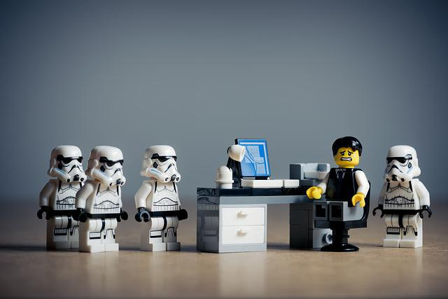 Lego, Star Wars, Toys, Stormtroopers, Office, People