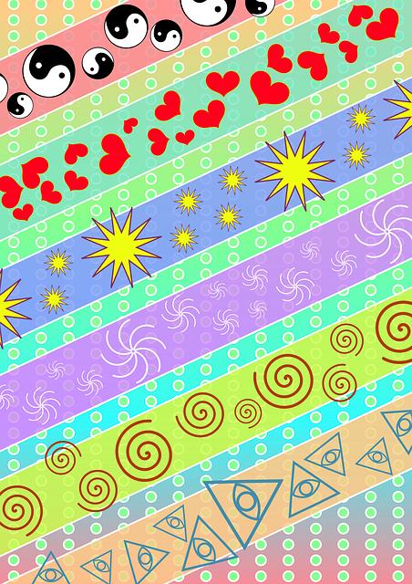 Craft, Texture, Yin Yang, Starfish, Spirals, Third Eye