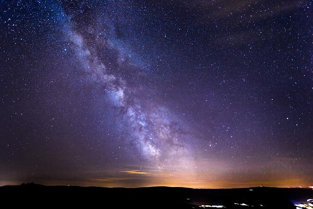 Starry Sky, Milky Way, Galaxy, Long Exposure, Star