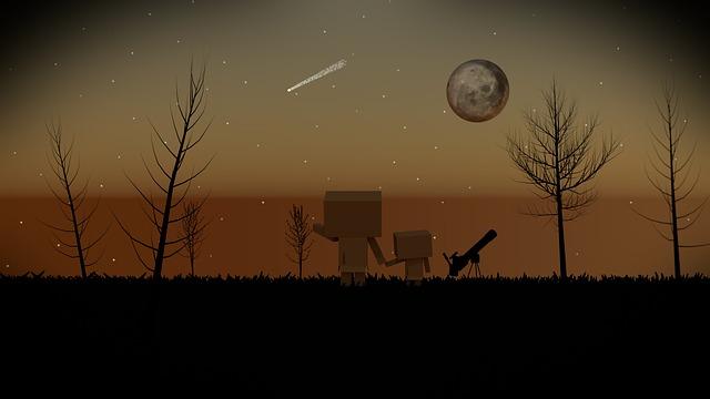 Night, Star, Cohesion, Sky, Star Tent, Starry Sky, Moon
