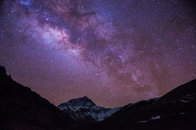 The Milky Way, Starry Sky, Tibet