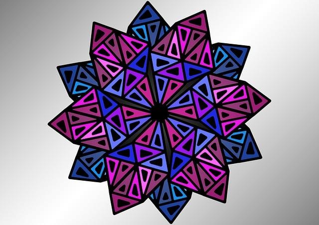 Stars, Pattern, Triangle, Motif, Geometric, Background
