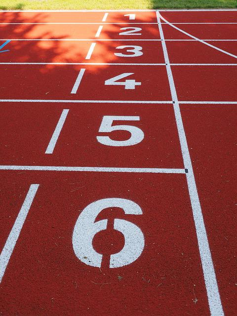 Starter, Career, Start Block, Numbers, Tartan Track