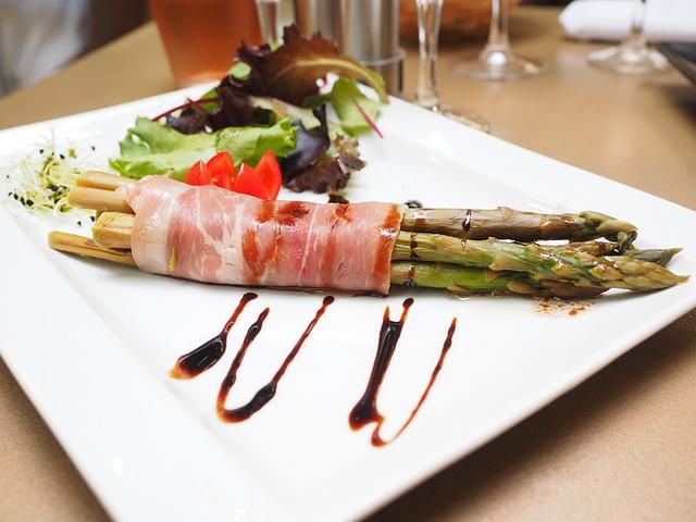 Asparagus, Salad, Tomato, Starter, Gourmet, Nutrition